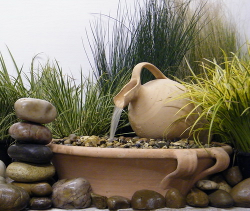 Apollo Self-Contained Water Feature