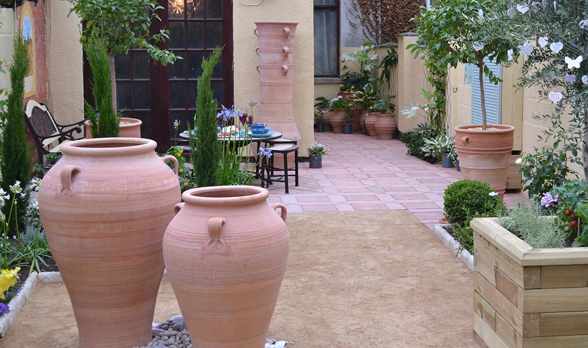 Authentic Cretan Terracotta Pots